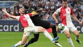 Inter wendet Blamage gegen Slavia Prag spät ab