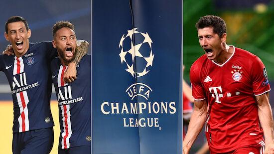 PSG und Bayern im großen Statistik-Battle