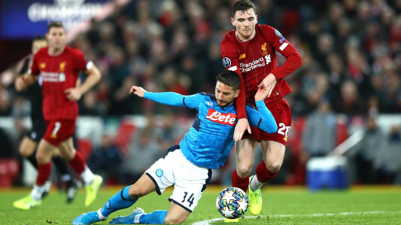 Champions League Kein Sieger Bei Liverpool Gegen Napoli