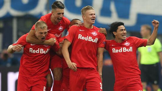 Salzburg-Galavorstellung in der Champions League