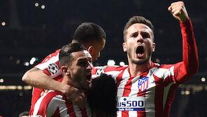 Atletico Madrid komplettiert CL-Achtelfinale
