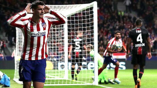 Morata rettet Atletico gegen Leverkusen