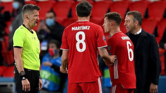 FC Bayerns CL-Aus auch Flicks Aus? Trainer scherzt