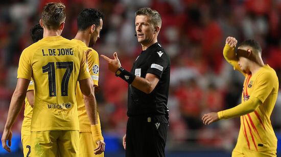 Ratlosigkeit bei Barcelona nach Pleite bei Benfica