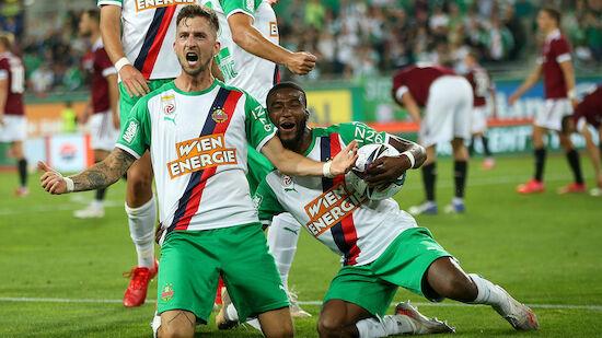 Rapid dreht Hinspiel gegen Sparta Prag