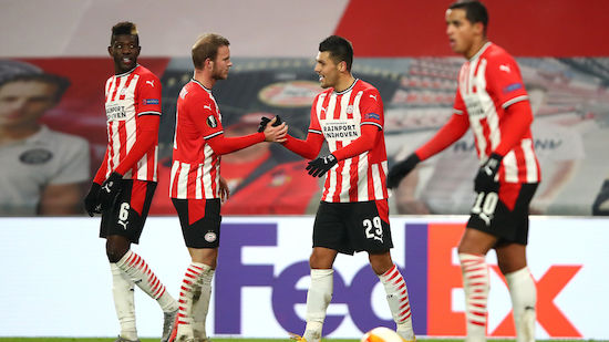 CL-Quali: Mwene schaltet mit PSV Galatasaray aus