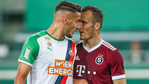 Gutes Europacup-Omen für Rapid gegen Sparta Prag