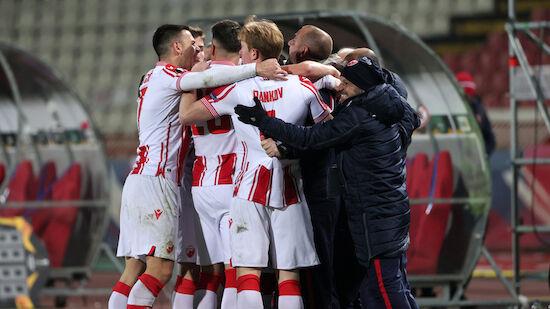 Cl-Quali: Dragovic jubelt mit Roter Stern