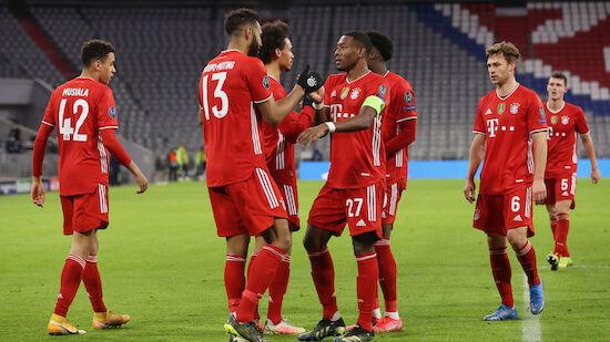 Wieder Viertelfinale! CL-Rekord für den FC Bayern