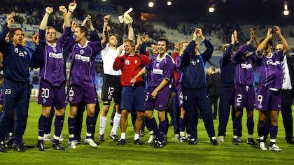 17. März 2005: UEFA-Cup Achtelfinale, Real Saragossa - Austria Wien (2:2)