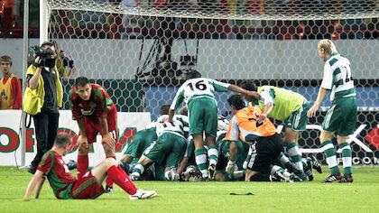 23. August 2005: Champions-League-Qualifikation, Lokomotive Moskau - Rapid Wien (0:1)