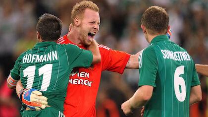 30. August 2012: Europa-League-Qualifikation: Rapid Wien - PAOK (3:0)