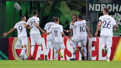 19. September 2019: Europa League: Borussia Mönchengladbach - Wolfsberger AC (0:4)