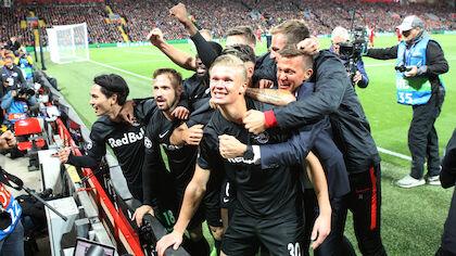 2. September 2019: Champions League: Liverpool - Red Bull Salzburg (4:3)
