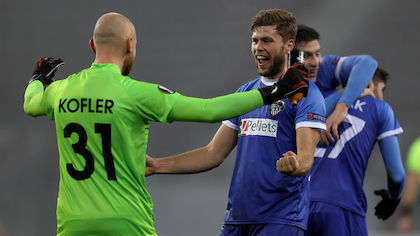 10. Dezember 2020: Europa League: Wolfsberger AC - Feyenoord (1:0)