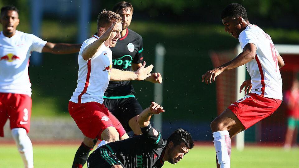 Die besten Bilder von Liepaja gegen RB Salzburg