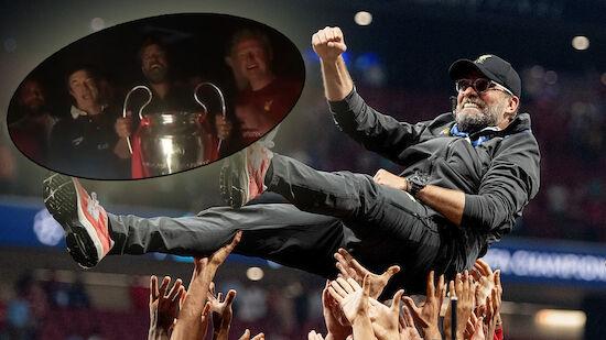 Grüße aus Madrid: Klopp und Campino sangen erneut