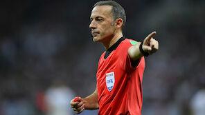 Star-Referee bei Salzburg-Roter Stern