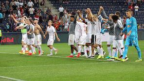 Salzburg: Appell an die Fans
