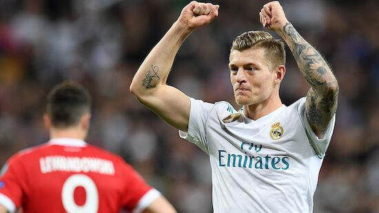 Schreibt Toni Kroos mit Real Madrid Geschichte?