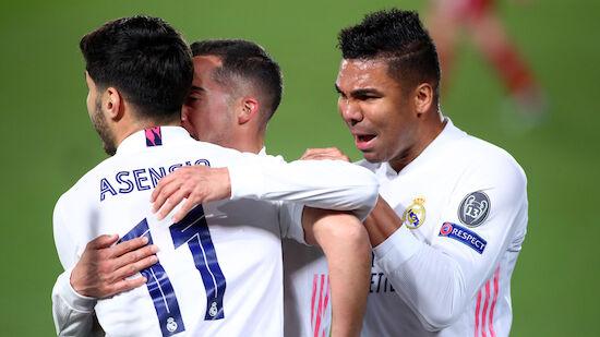Real gewinnt Hinspiel-Knaller gegen Liverpool