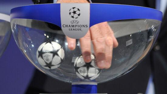 So sehen die Champions-League-Gruppen aus