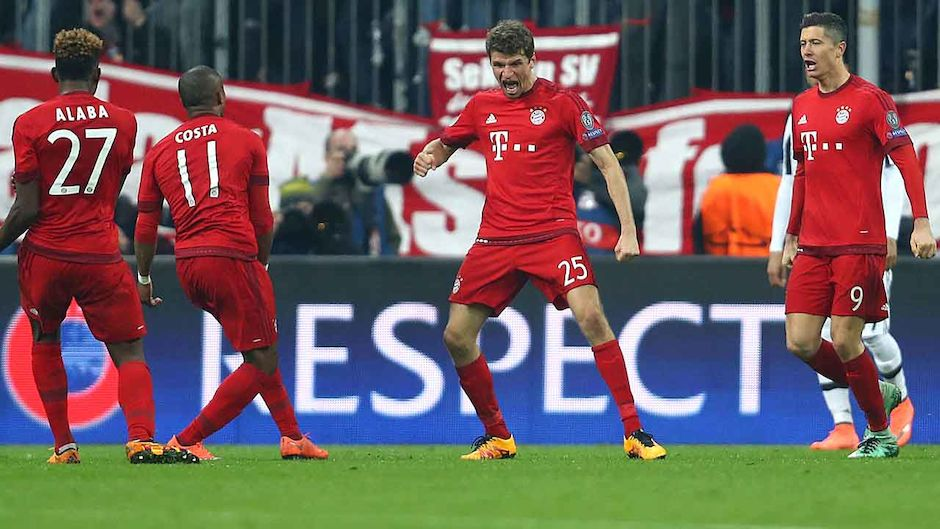 Cl Achtelfinale Bayern Besiegt Juve Im Cl Thriller Laola1 At
