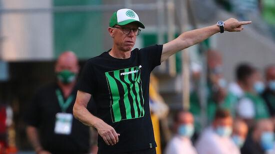 Stöger mit einem Bein im Champions-League-Playoff