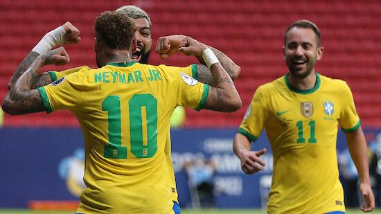 Brasilien dominiert Auftakt in Copa America