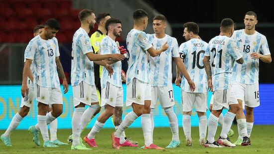 Knapper Argentinien-Sieg über Paraguay