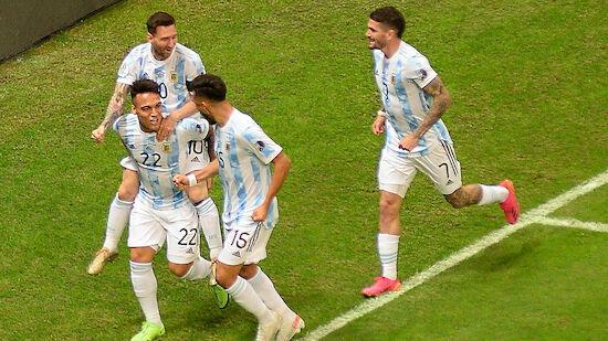 Argentinien komplettiert Traumfinale bei der Copa