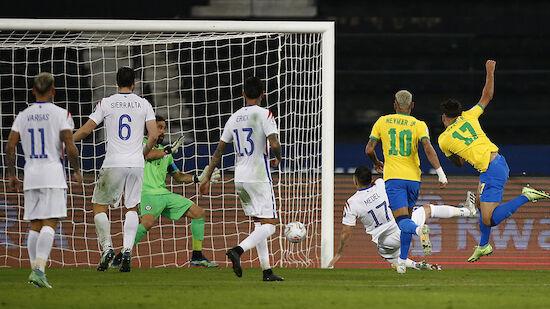 Peru und Brasilien im Halbfinale der Copa