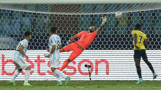 Argentinien und Kolumbien im Copa-Halbfinale
