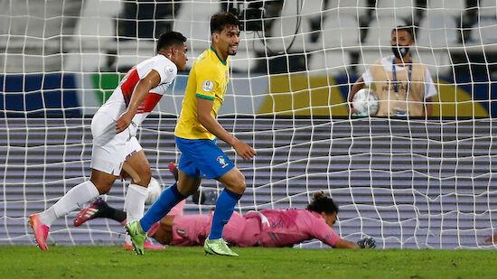 Paqueta schießt Brasilien ins Copa-Finale