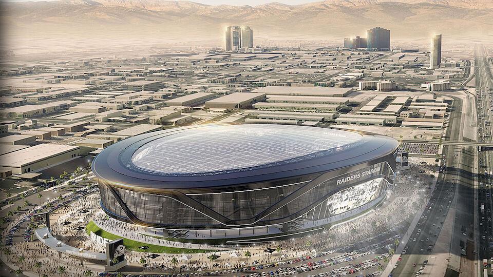 So soll das neue NFL-Stadion in Las Vegas aussehen
