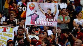 Drama bei Abschied von Totti