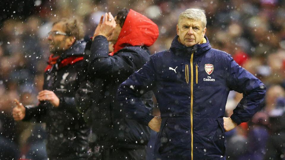 Arsene Wenger: 20 Bilder aus 20 Jahren des Arsenal-Bosses