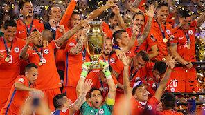 Chile verteidigt den Copa-Titel