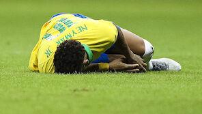 Neymar schon wieder schwerer verletzt