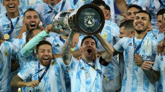 Argentinien gewinnt die Copa America