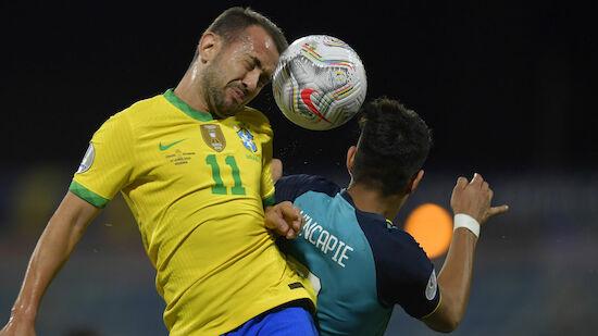Brasilien gegen Ecuador nur Remis