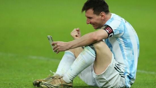 Messi-Botschaft an 100-jährigen Superfan