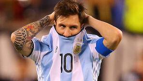 Messi beendet seine Teamkarriere