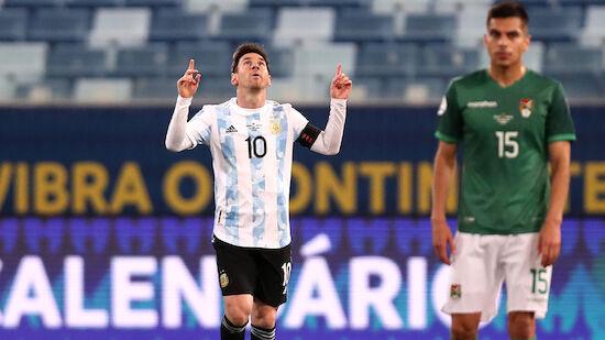 Messi-Doppelpack gegen Bolivien