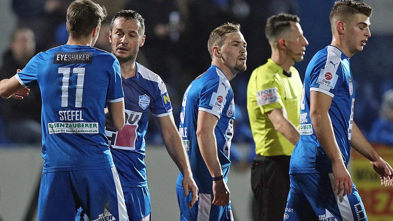 Erste liga salihi trifft bei comeback f r wr neustadt for Ergebnisse erste liga