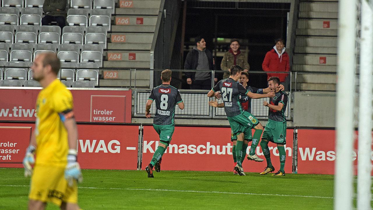 Erste liga fc wacker gewinnt heim derby gegen wattens for Ergebnisse erste liga