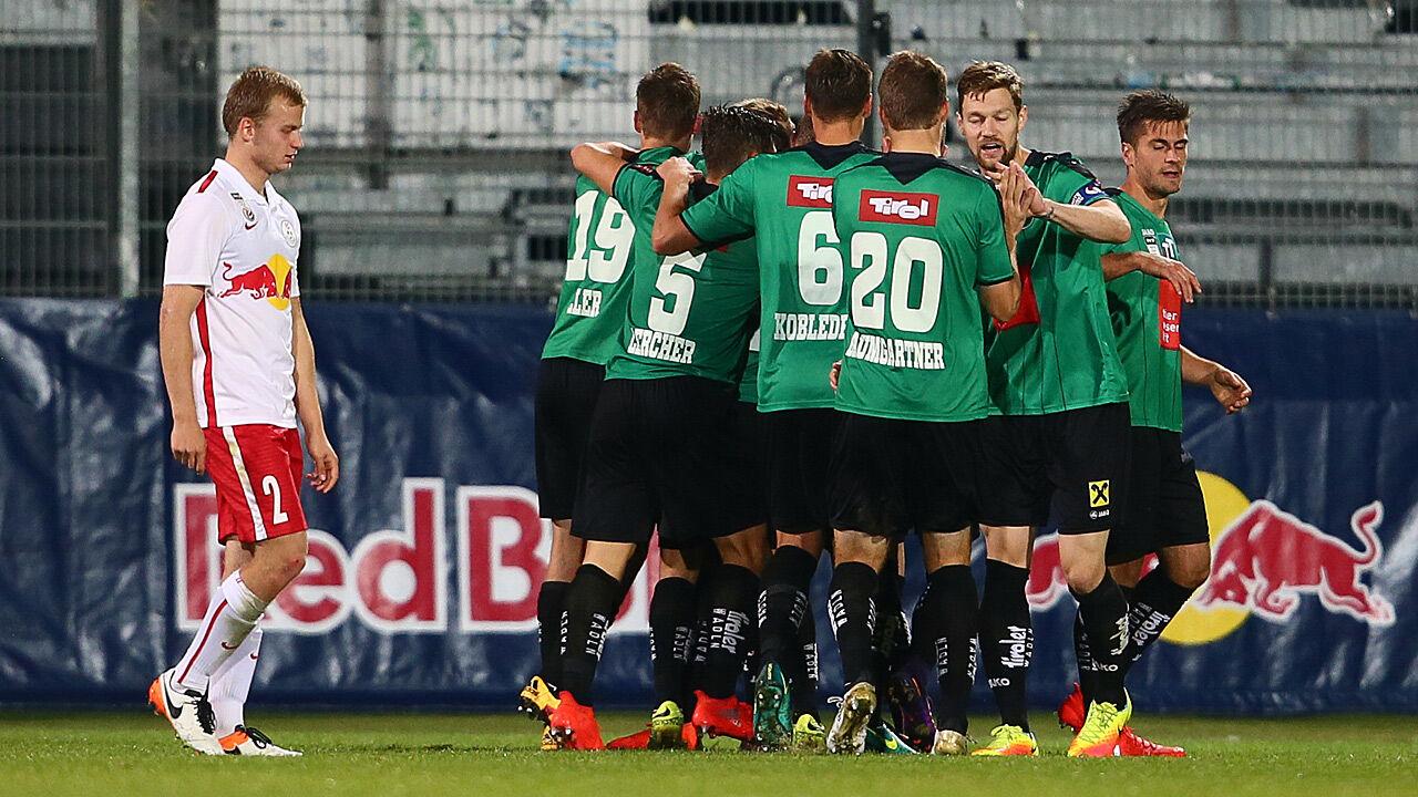 Wacker f gt leader liefering erste saisonpleite zu for Ergebnisse erste liga