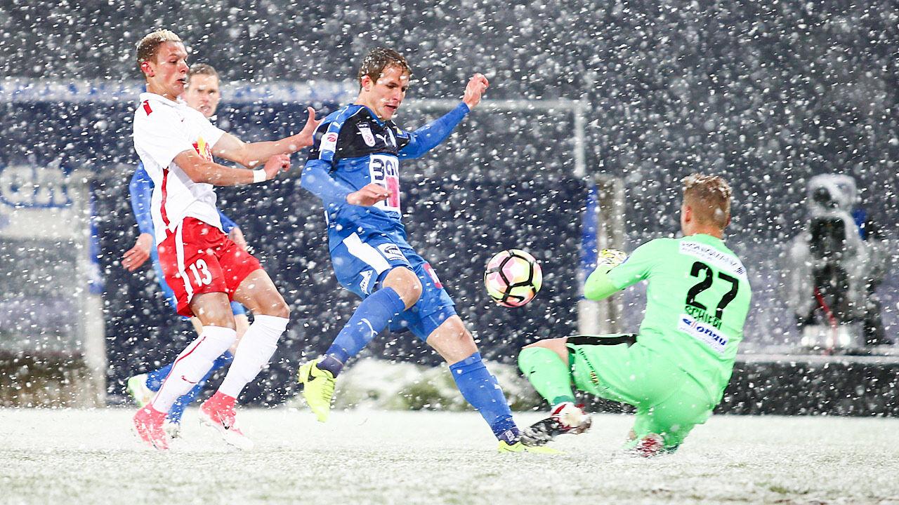 Erste liga schneechaos abbruch bei liefering wr neustadt for Ergebnisse erste liga