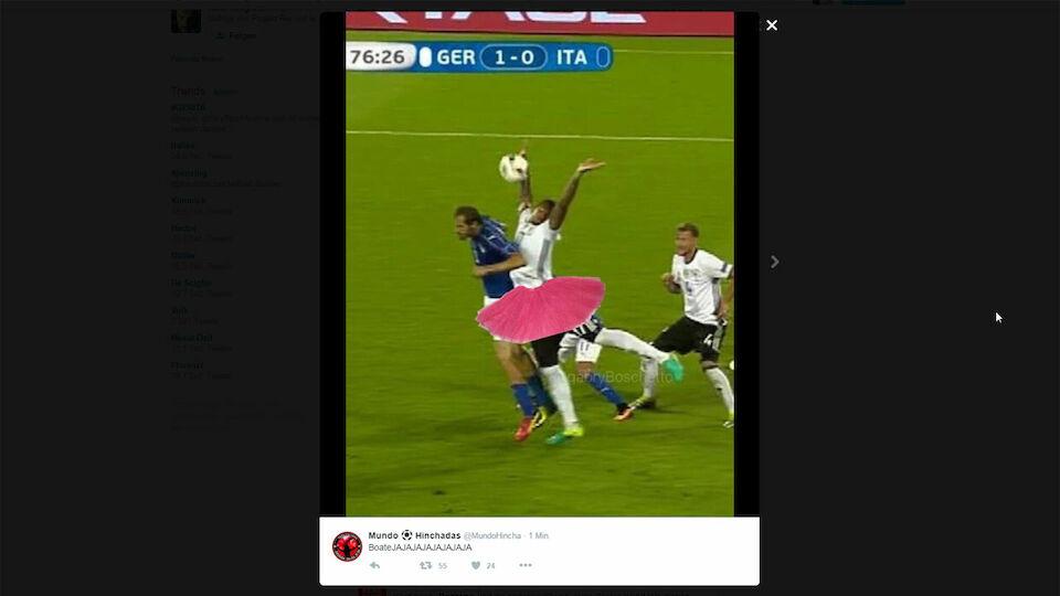 Boateng-Hands gegen Italien als Internet-Hit