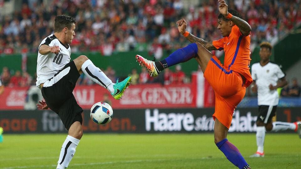 Die Bilder vom Test: ÖFB gegen Niederlande